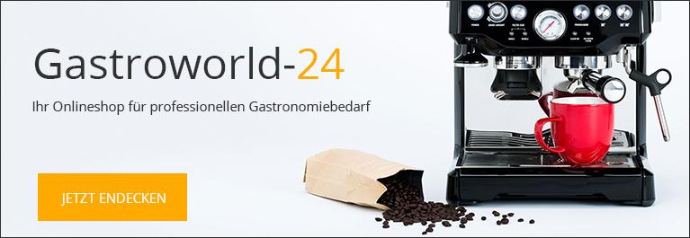 Gastroworld-24 - Ihr Onlineshop für Profigastronomie